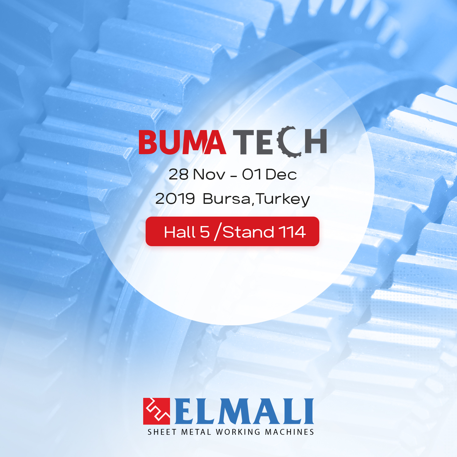 Elmalı Makina is at BumaTech!